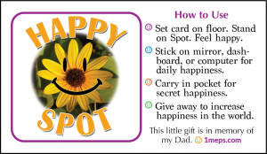 Happy Spot card